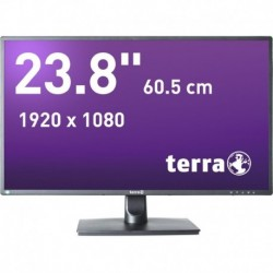 Monitor Terra Led 2456W Czarny Dp, Hdmi Greenline Plus