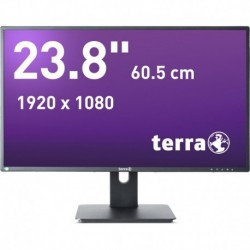 Monitor Terra Led 2456W Pv Czarny Dp, Hdmi Greenline Plus
