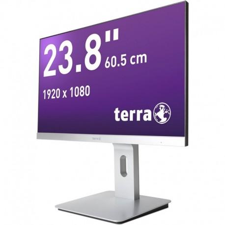 Monitor Terra Led 2462W Pv Srebrny Dp/Hdmi Greenline Plus