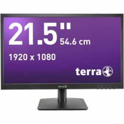 Monitor Terra Led 2226W Czarny Hdmi Greenline Plus