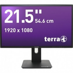 Monitor Terra Led 2256W Pv Czarny Dp, Hdmi Greenline Plus