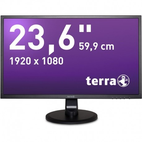 Monitor Terra Led 2447W Czarny Hdmi Greenline Plus