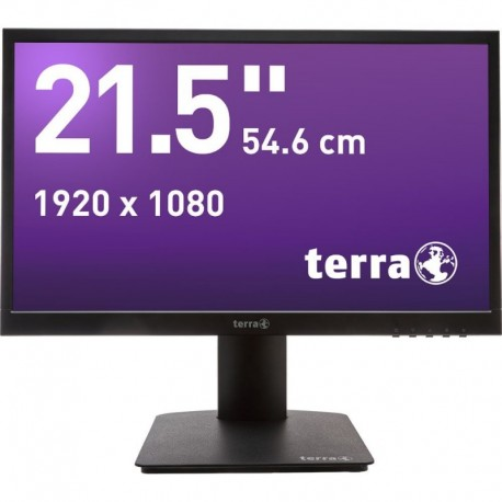 Monitor Terra Led 2226W Pv Czarny Hdmi Greenline Plus