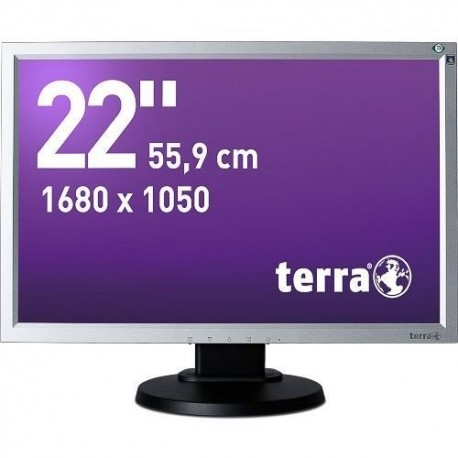 Monitor Terra Led 2230W Pv Srebrno/Czarny Dvi Greenline Plus