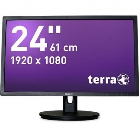 Monitor Terra Led 2435W Ha Czarny Dp+Hdmi Greenline Plus