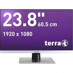 Monitor Terra Led 2462W Srebrny Dp/Hdmi Greenline Plus