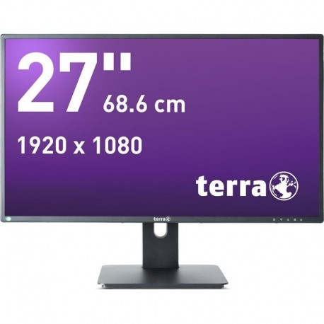 Monitor Terra Led 2756W Pv Czarny Dp+ Hdmi Greenline Plus
