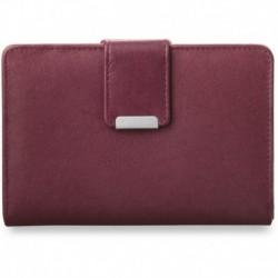 Poręczny damski portfel portmonetka - fioletowy