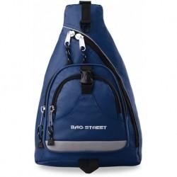 Sportowy plecak na 1 ramię bag street - niebieski
