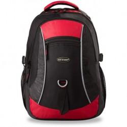 Plecak bag street do szkoły pracy dla aktywnych czerwono-czarny