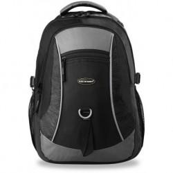Plecak bag street do szkoły pracy dla aktywnych szaro-czarny