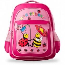 Plecak dla dziecka tornister do szkoły wycieczkę - różowy