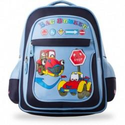 Plecak dla dziecka tornister do szkoły wycieczkę - niebieski