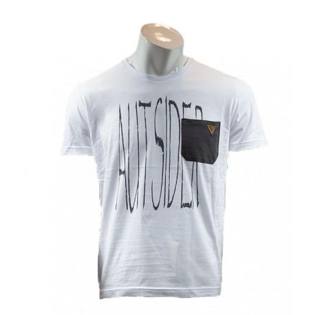 T-shirt męski z kieszonką