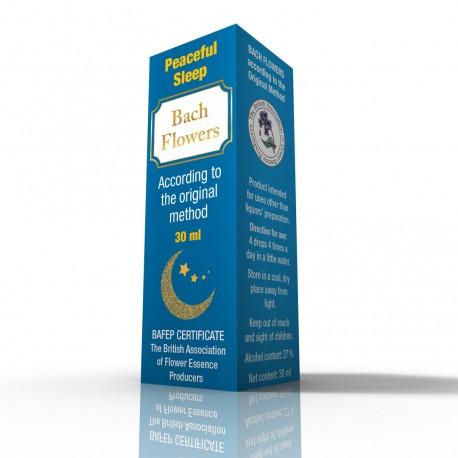Kwiaty Bacha - Spokojny sen - Suplement diety - 30 ml
