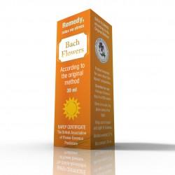 Kwiaty Bacha - Remedy - relaks bez stresu - Suplement diety - 30 ml